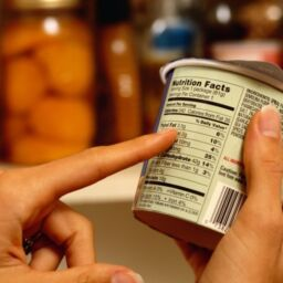 How to read labels: additives