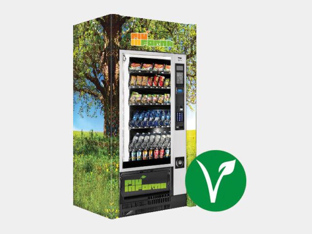 Distributori automatici prodotti vegan
