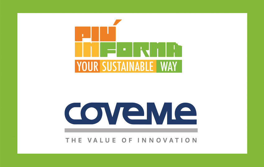 Coveme Spa chooses the PIÚINFORMA format