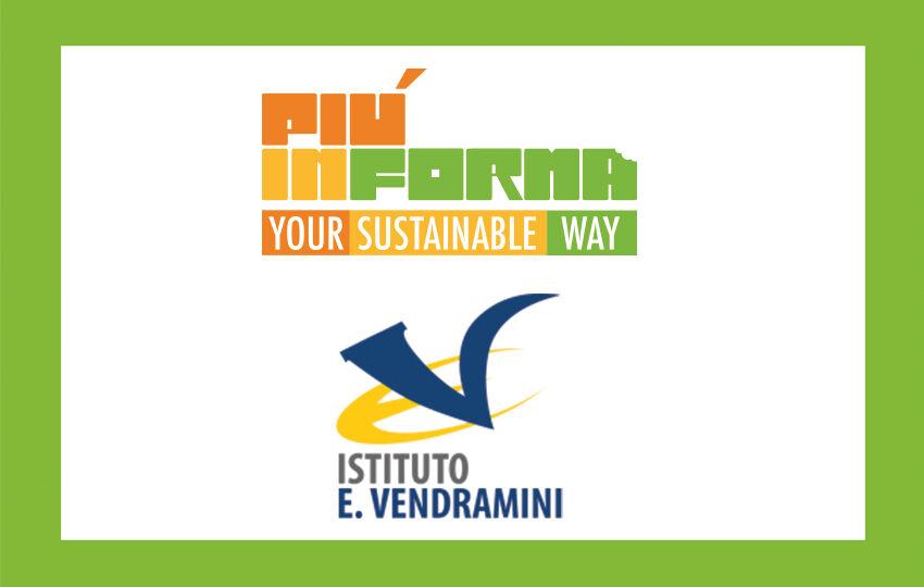 Istituto Vendramini e le aree break eco-sostenibili PIÚINFORMA®