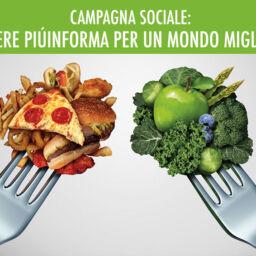CAMPAGNA SOCIALE: ESSERE PIÚINFORMA PER UN MONDO MIGLIORE