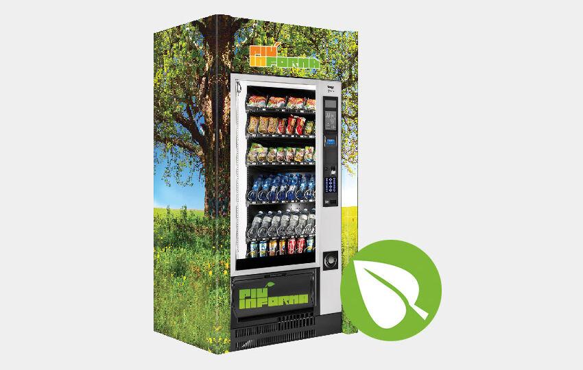 Distributori automatici pasti biologici