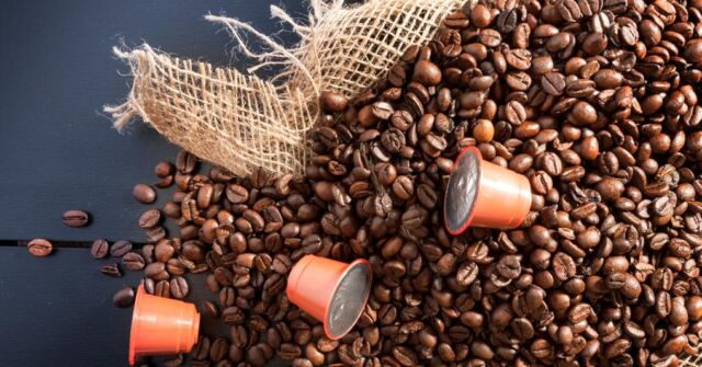 New life for spent coffee capsules