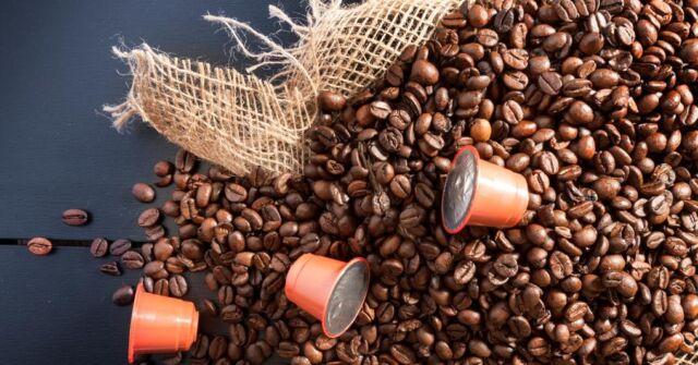 Nuova vita alle capsule caffe' esauste