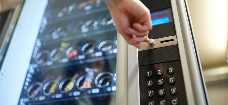 Distribuzione automatica di snack e food